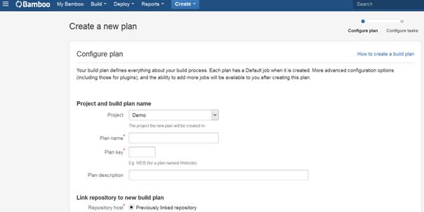 Tworzenie nowego planu (procesu budowania)