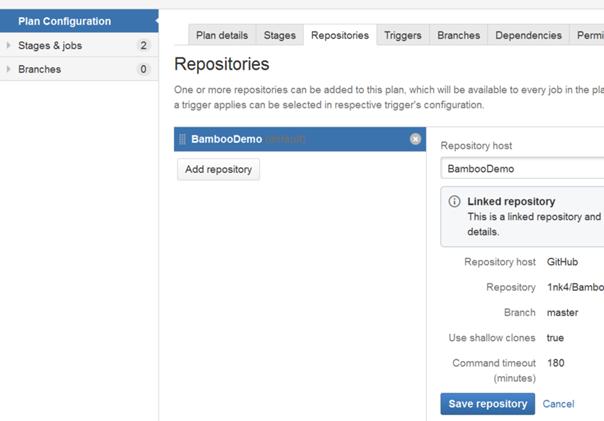 Dodanie definicji repozytorium kodu źródłowego