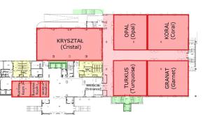 Z mapą to nie był żart. Screenshot ze strony gromada.pl przedstawia mapę jednego z trzech poziomów, na których odbywała się konferencja.